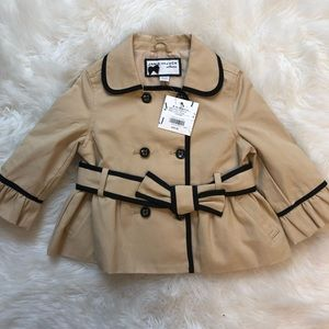 Baby girls Janie and Jack coat